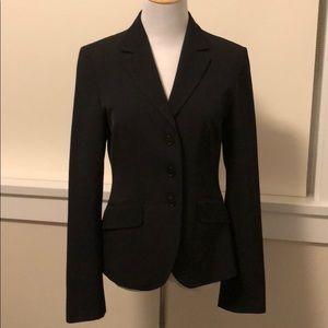 Benetton black poly blazer